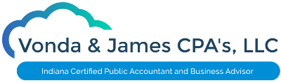 Vonda & James CPA's, LLC Logo
