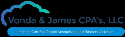 Vonda & James CPA's, LLC Logo